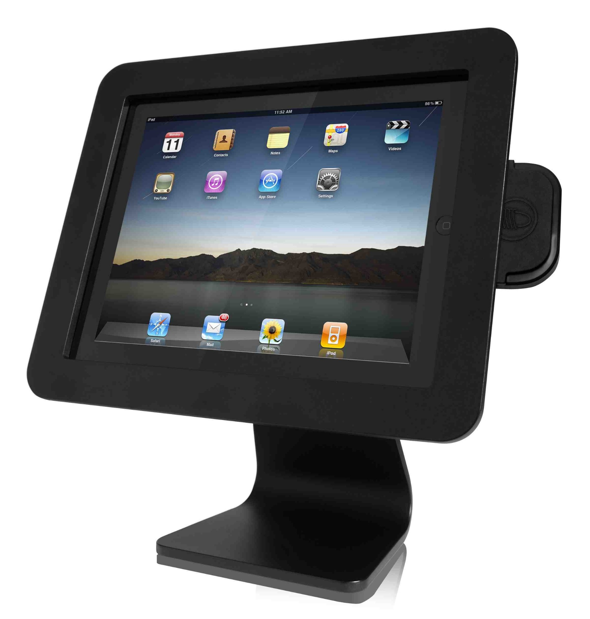 Compulocks iPad Enclosure Kiosk soporte de seguridad para tabletas Negro