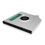 "ICY BOX IB-AC647 SSD enclosure 2.5"" Green,Silver"