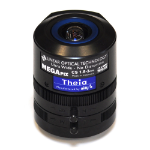 Axis Theia Varifocal Ultra Wide Lens Ultra-wide lens Black