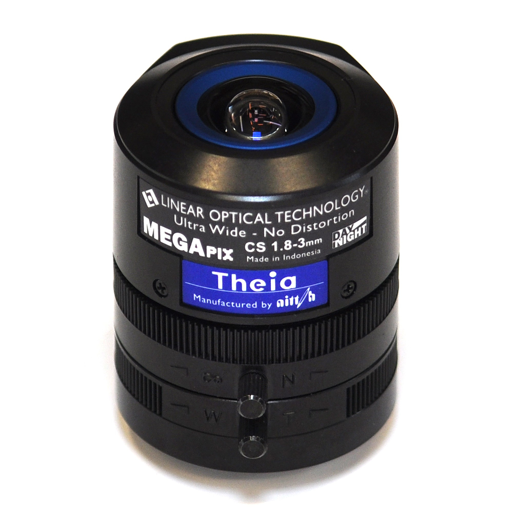 Axis Theia Varifocal Ultra Wide Lens Objetivo ultra ancho Negro