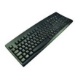 2-Power KEY1001SE USB Swedish Black keyboard