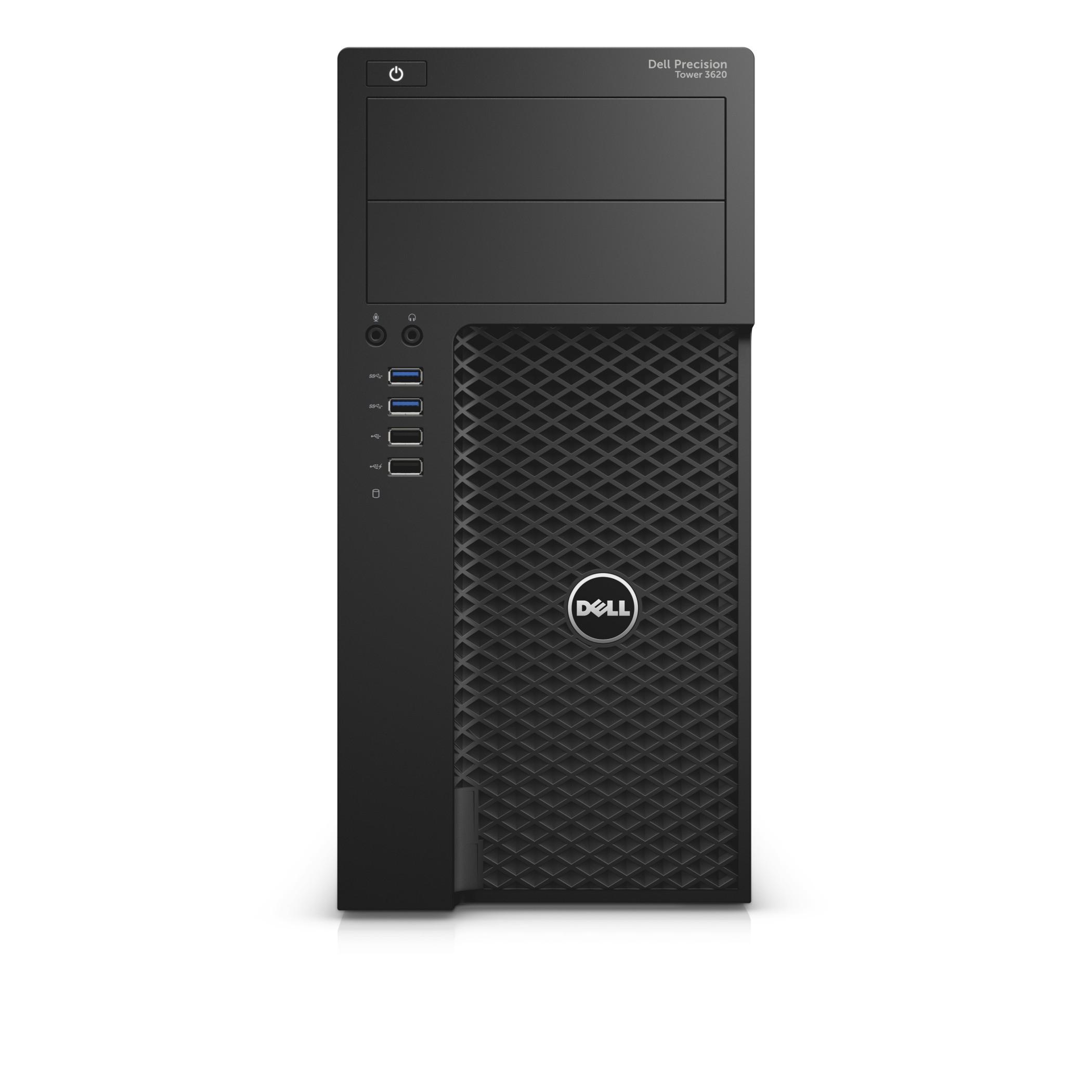 DELL Precision 3620 3.4GHz i7-6700 Mini Tower Black
