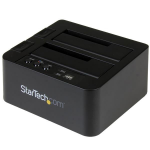 StarTech.com SDOCK2U313R media duplicator HDD duplicator 2 copies Black