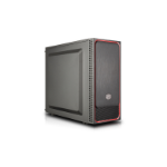 Cooler Master MasterBox E500L Midi-Tower Black,Red