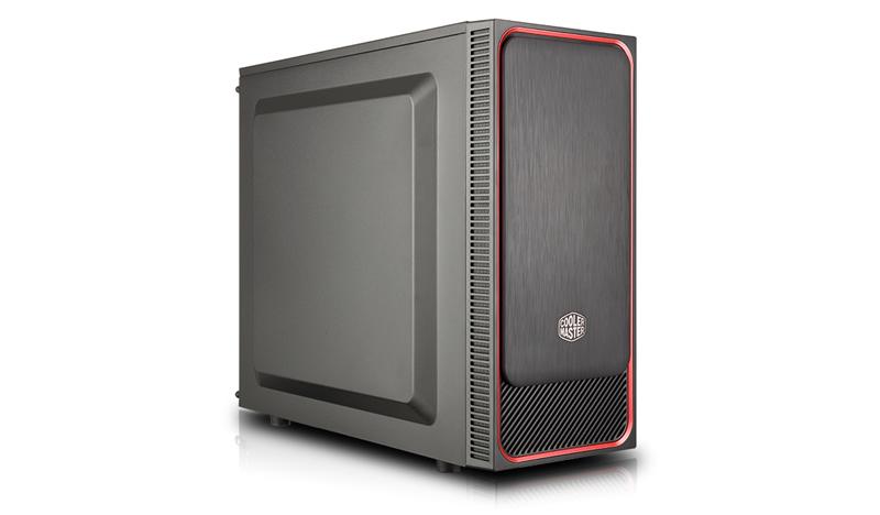 Cooler Master MasterBox E500L Midi-Tower Black, Red computer case