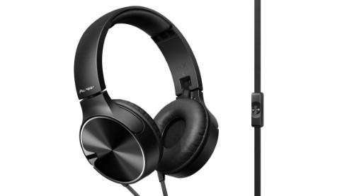 Pioneer SE-MJ722T-K Head-band Binaural Wired Black mobile headset
