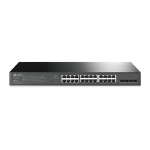 TP-LINK JetStream 28-Port Gigabit Smart PoE Switch with 24-Port PoE+