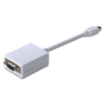 ASSMANN Electronic Mini DP - HD15, 0.15 m 0,15 m mini DisplayPort VGA (D-Sub) Wit