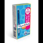 Papermate InkJoy Gel Retractable gel pen Blue Fine 12 pc(s)