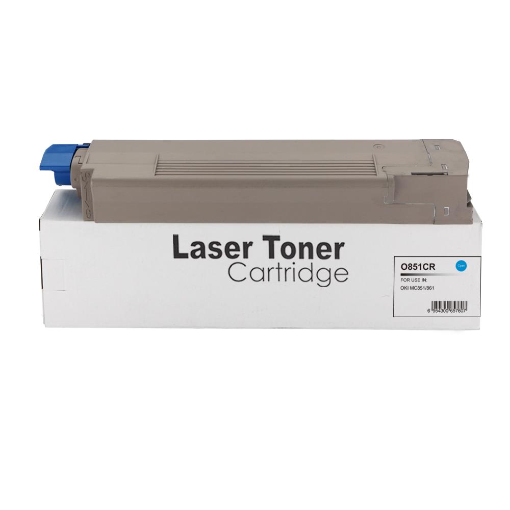 Remanufactured OKI 44059167 Cyan Toner Cartridge