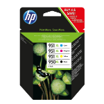 HP C2P43AE#301 (950XL/951XL) Ink cartridge multi pack, 2300+1500 pg, Pack qty 4