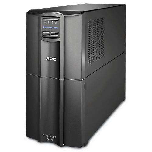 APC Smart-UPS Line-Interactive 2200VA 9AC outlet(s) Tower Black uninterruptible power supply (UPS)
