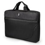 """Port Designs 202322 notebook case 39.6 cm (15.6"""") Messenger case Black"""