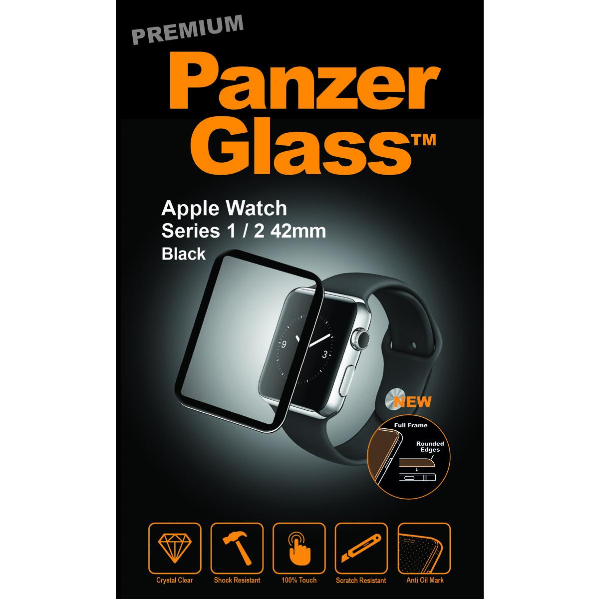 PanzerGlass 2012 accesorio de smartwatch Protector de pantalla Negro