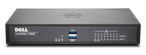 SonicWall TZ500 hardware firewall 1400 Mbit/s