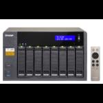QNAP TS-853A Tower Ethernet LAN Black