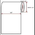 """Datamax O'Neil Premium 4.40"""" x 125' thermal paper"""