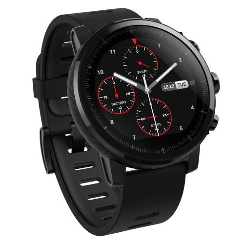 Xiaomi Amazfit Stratos smartwatch Black LCD 3.4 cm (1.34