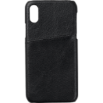 eSTUFF Iphone X Leather case mobile phone case Cover Black