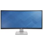 "DELL UltraSharp U3415W 86.4 cm (34"") 3440 x 1440 pixels Quad HD LED Black"