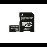Transcend 4 GB microSDHC memory card Class 4