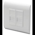 Digitus DN-93802 socket-outlet RJ-45 White