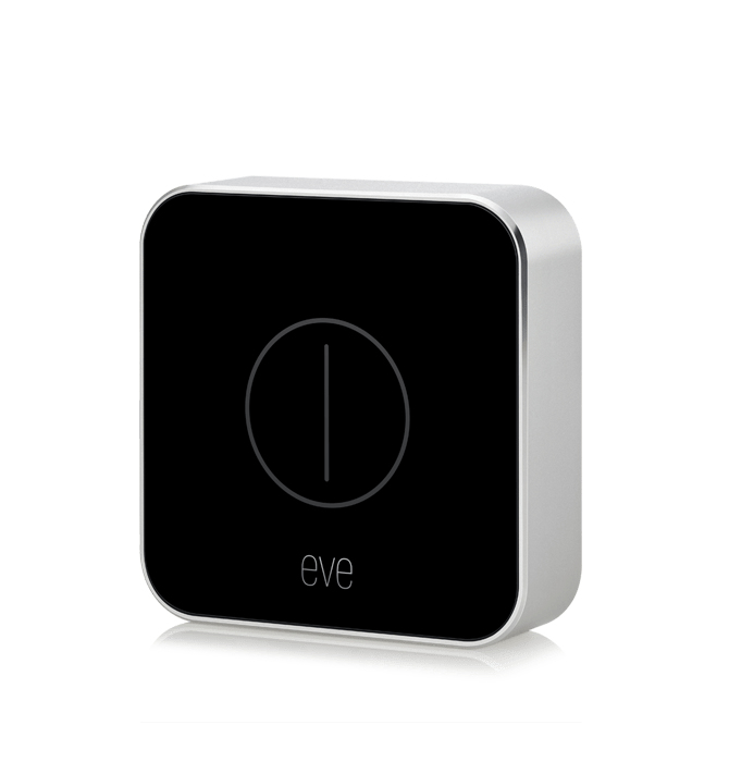 Elgato Eve Button Bluetooth Black, White smart home receiver