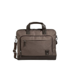 "Brenthaven Medina Slim Brief notebook case 15"" Briefcase Brown"
