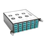 Tripp Lite 40/100Gb Breakout Cassette, 40Gb to 4 x 10Gb, 100Gb to 4 x 25Gb, (x3) 8-Fiber MTP/MPO to (x12) LC Duplex, Type-B Polarity