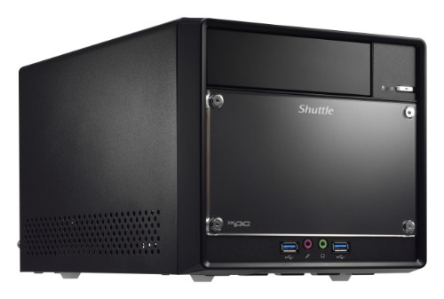 Shuttle SH110R4 PC/workstation barebone Desktop Black Intel® H110