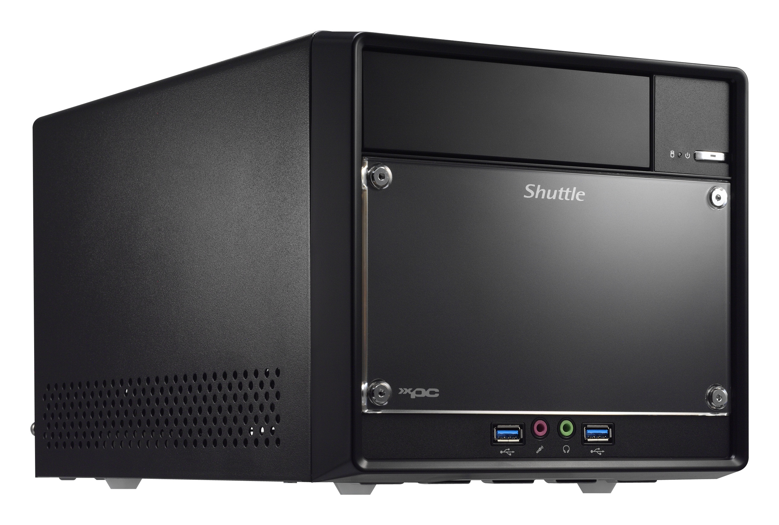 Shuttle SH110R4 Intel H110 Desktop Black barebone