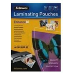 Fellowes Matt Pouches A4 100pcs. 80mµ laminator pouch