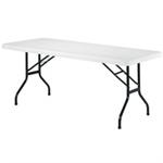 JEMINI FF JEMINI 1220MM FOLDING RECT TABLE WHIT