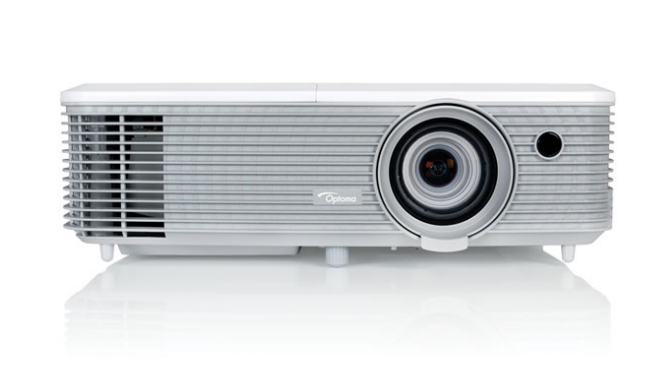 Optoma EH400+ beamer/projector 4000 ANSI lumens DLP 1080p (1920x1080) 3D Draagbare projector Grijs