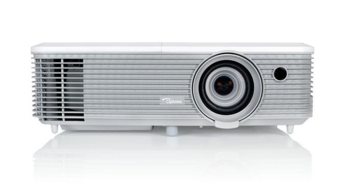 Optoma EH400+ videoproyector 4000 lúmenes ANSI DLP 1080p (1920x1080) 3D Proyector portátil Gris