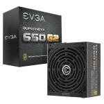 EVGA SuperNOVA 650 G2 650W Black power supply unit