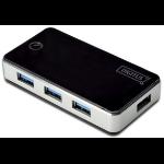 Digitus DA-70231 5000Mbit/s Black,Silver interface hub