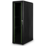 Digitus DN-19 42U-6/12-1B rack cabinet Freestanding rack Black