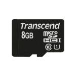 Transcend 8GB microSDHC Class 10 UHS-I 8GB MicroSDHC UHS Class 10 memory card