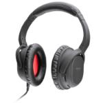 Lindy NC-60 Head-band Binaural Wired Black mobile headset