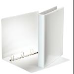 Esselte FSC A4 4 DR/25 mm ring binder White