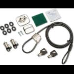 HP 3XJ17AA cable lock Black