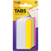 Post-It Tabs, 2 inch Solid, Assorted Bright Colors, 6/Color, 4 Colors, 24/Pk self adhesive tab Green, Orange, Pink, Yellow