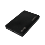 "LogiLink UA0256 storage drive enclosure 2.5"" HDD enclosure Black"