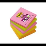 Post-It 654S-N self-adhesive label Multicolour 5 pc(s)