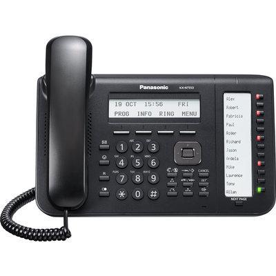 Panasonic KX-NT553X-B IP phone Black Wired handset LCD