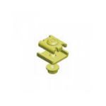 DP Building Systems 64020060 Yellow cable clamp