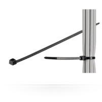 Microconnect CABLETIE5 cable tie Black 100 pc(s)