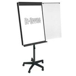 Bi-Office EA48066821 magnetic board Lacquered steel 700 x 1000 mm Grey,White