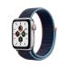 Apple Watch SE 40 mm OLED 4G Plata GPS (satélite)